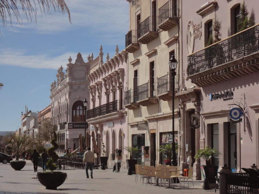 Corredor turístico Constitución en Durango