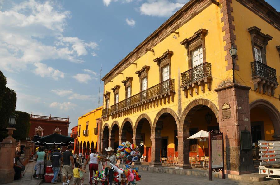 Vista del centro histórico de San Miguel de Allende