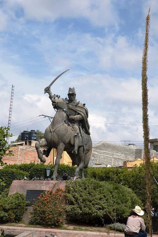 Estatua de Ignacio Allende en San Miguel de Allende