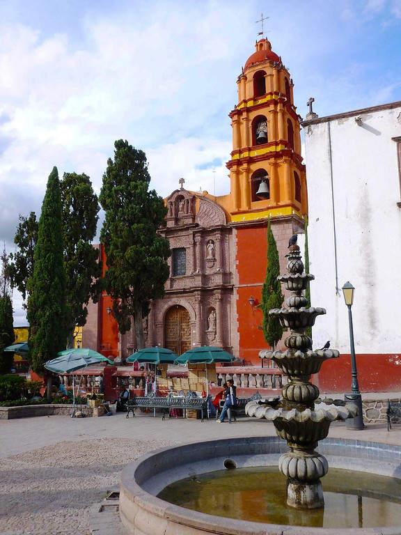 Iglesia Santa Clara de Loreto en San Miguel de Allende