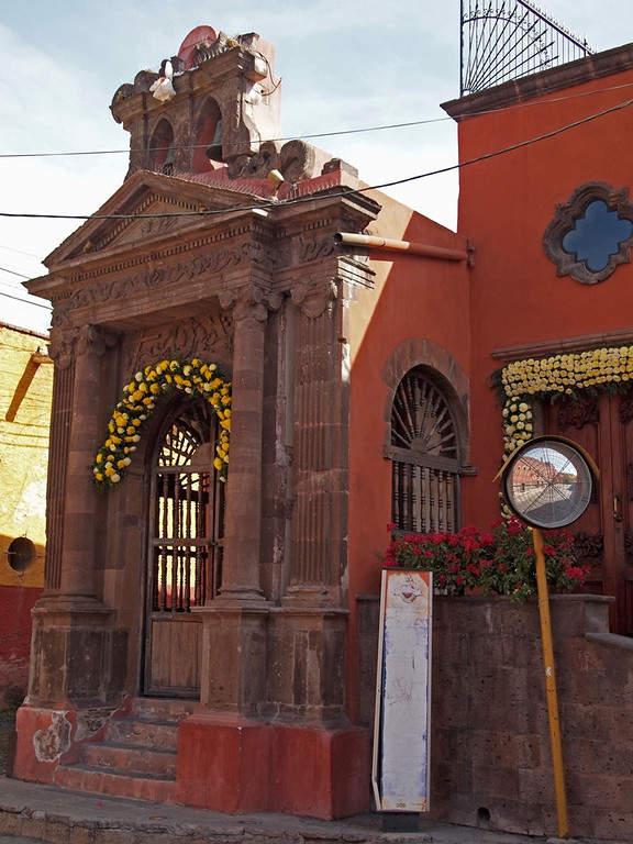 Exterior de la Capilla del Calvario en San Miguel de Allende