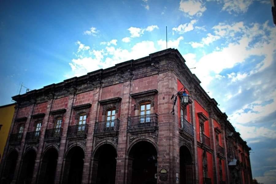 San Miguel de Allende posee una gran variedad de edificios coloniales