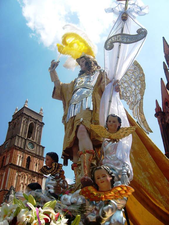 Fiesta de San Miguel Arcángel en San Miguel de Allende