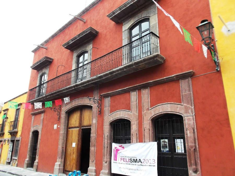 Una casa de estilo colonial en San Miguel de Allende