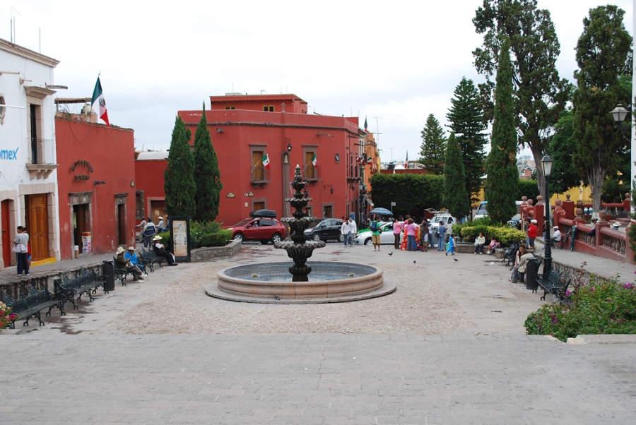 Plaza Soledad en San Miguel de Allende