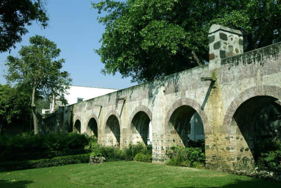 En la Hacienda Cocoyoc hay un acueducto del siglo XVI