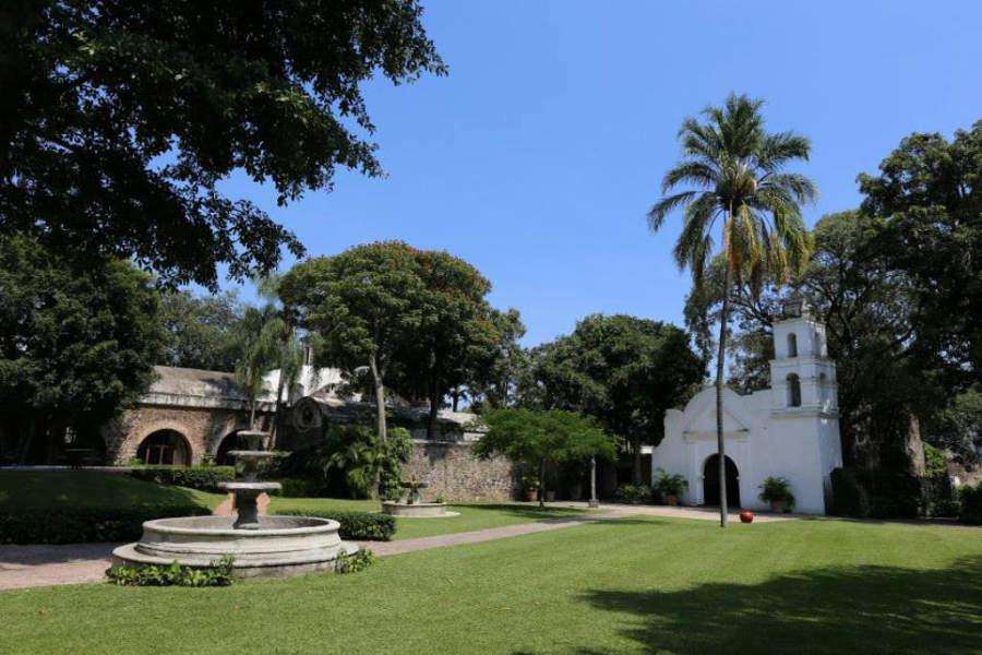 En el Hotel Hacienda Cocoyoc hay una capilla