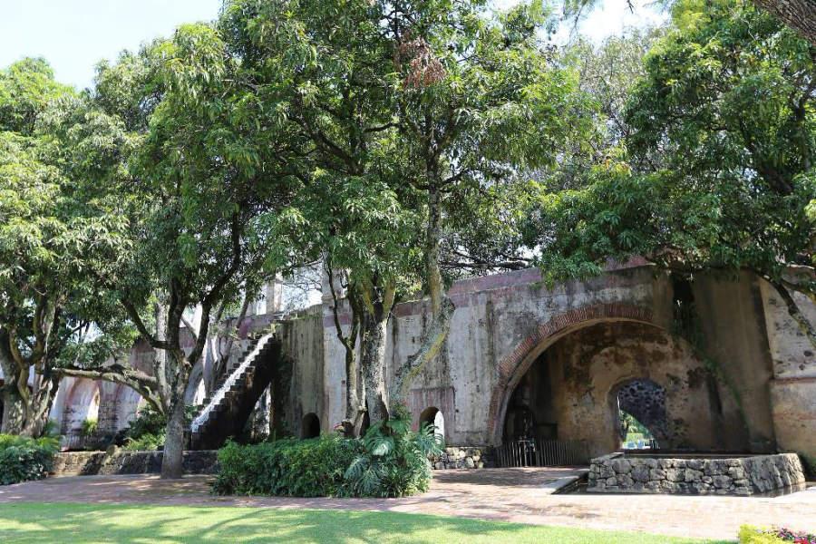 Jardín en el Hotel Hacienda Cocoyoc