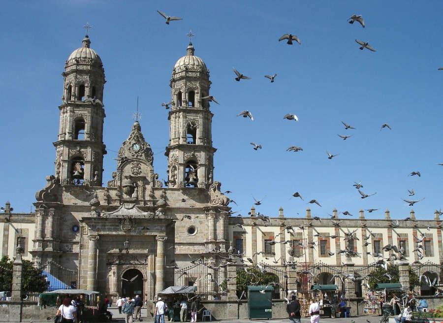 Basílica de Zapopan en los alrededores de Guadalajara