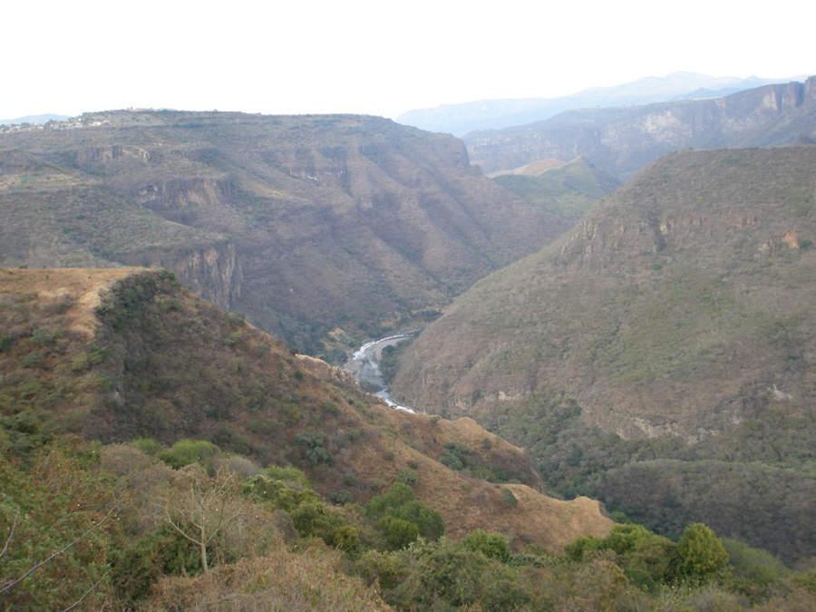 Barranca de Huentitán cerca de Guadalajara