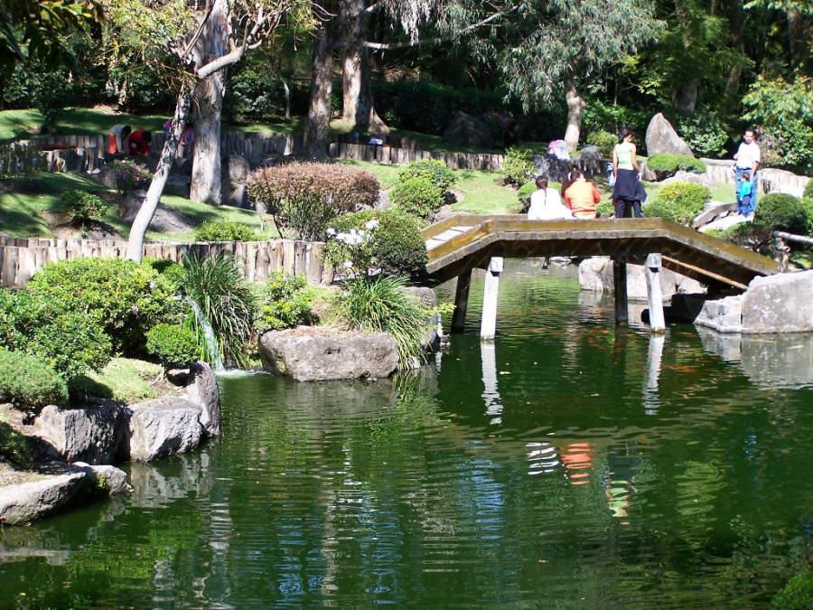 El Parque de Los Colomos es un jardín de estilo japonés en Guadalajara