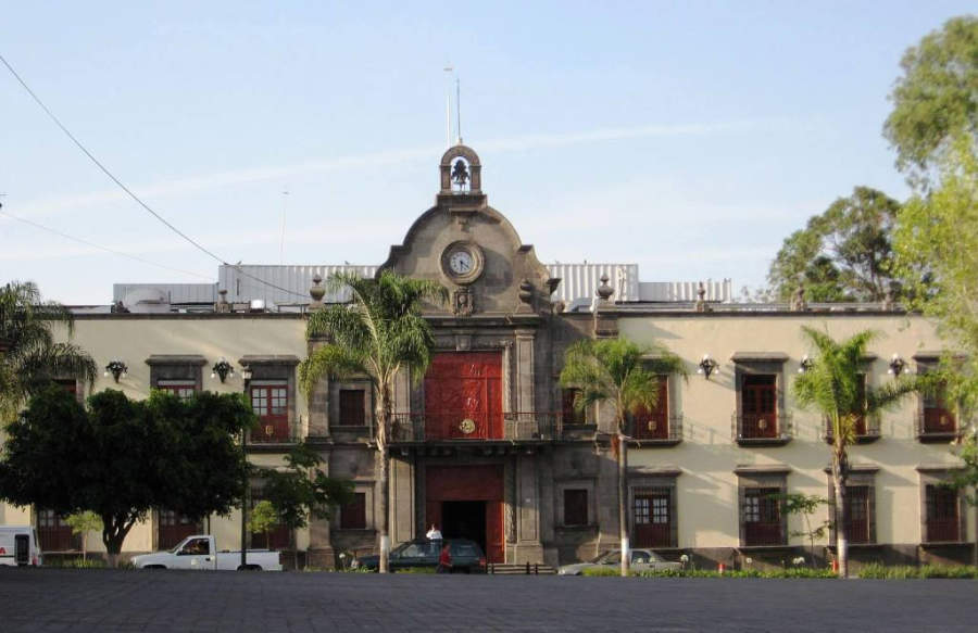 Palacio Municipal de Zapopan, en los alrededores de Guadalajara
