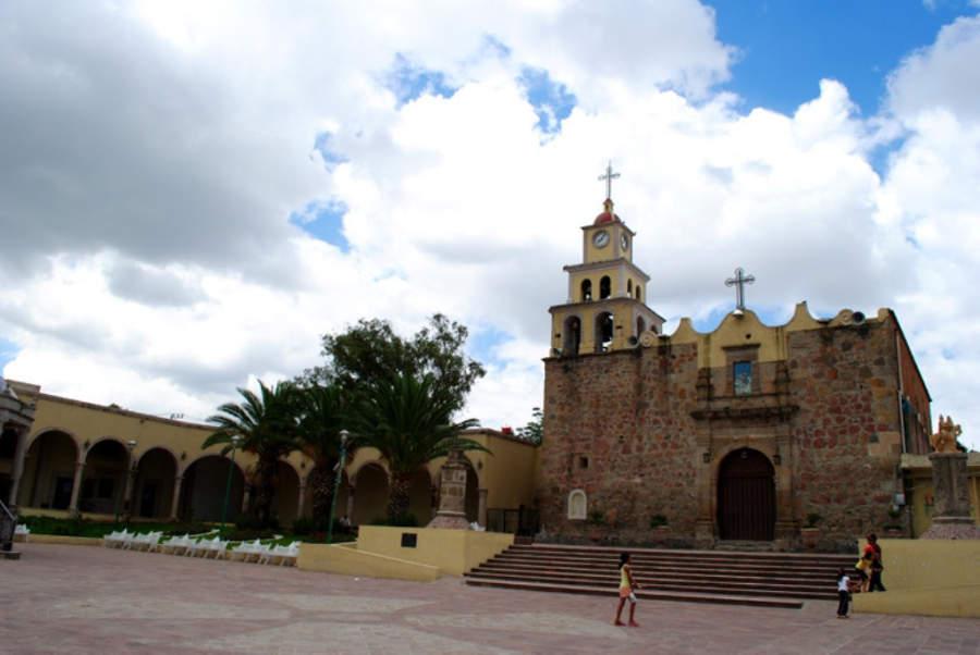 Iglesia de San Martín de las Flores en Tlaquepaque