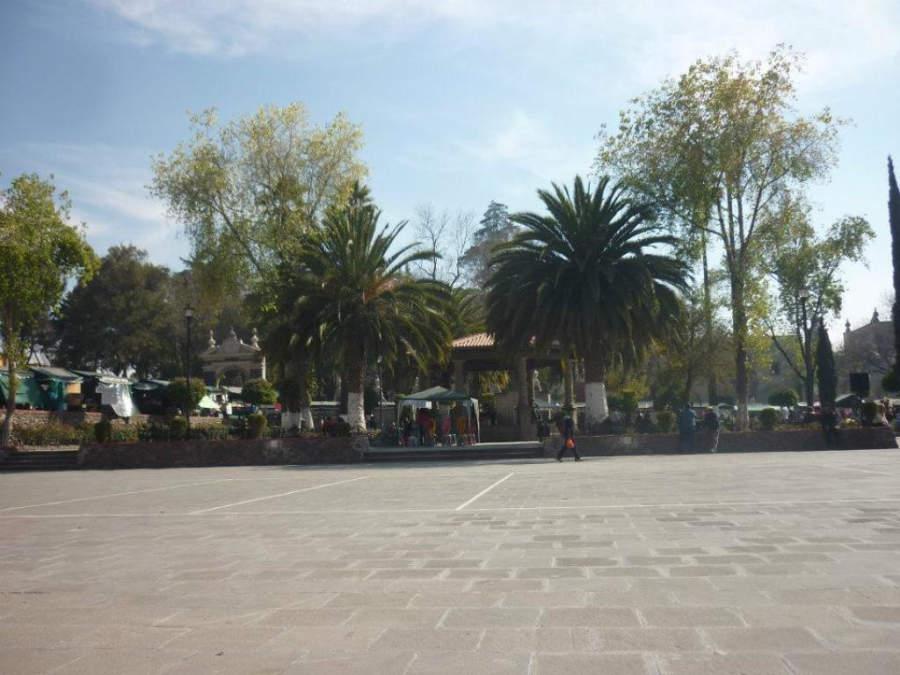 Plaza principal de Tepotzotlán