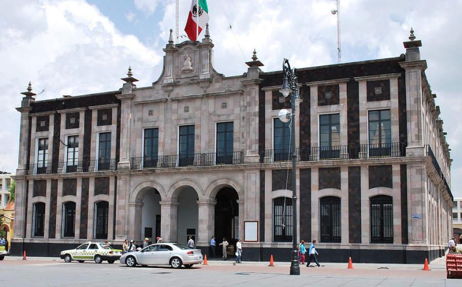 Edificio del ayuntamiento de Toluca en la Plaza de los Mártires