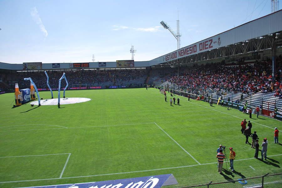 Estadio Nemesio Diez en Toluca de Lerdo