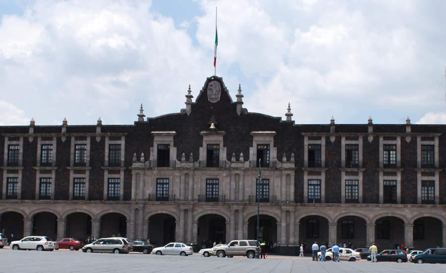 Palacio de Gobierno de Toluca con su fachada de estilo neocolonial