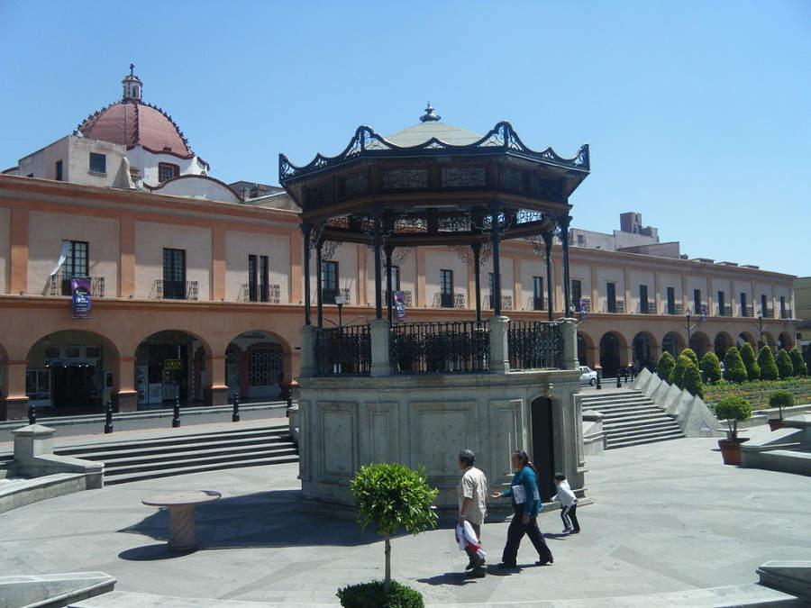 Los Portales en el centro histórico de Toluca
