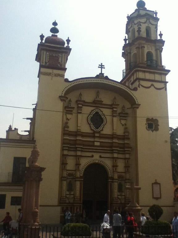 Iglesia de la Santa Veracruz, construida en 1753