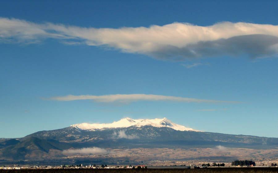 Vista del Nevado de Toluca