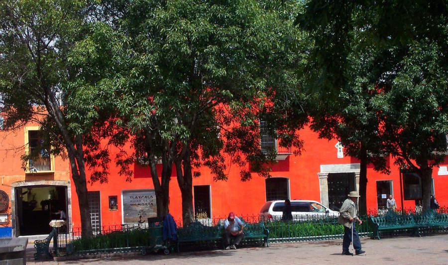 Fachada y entrada del Museo de la Memoria