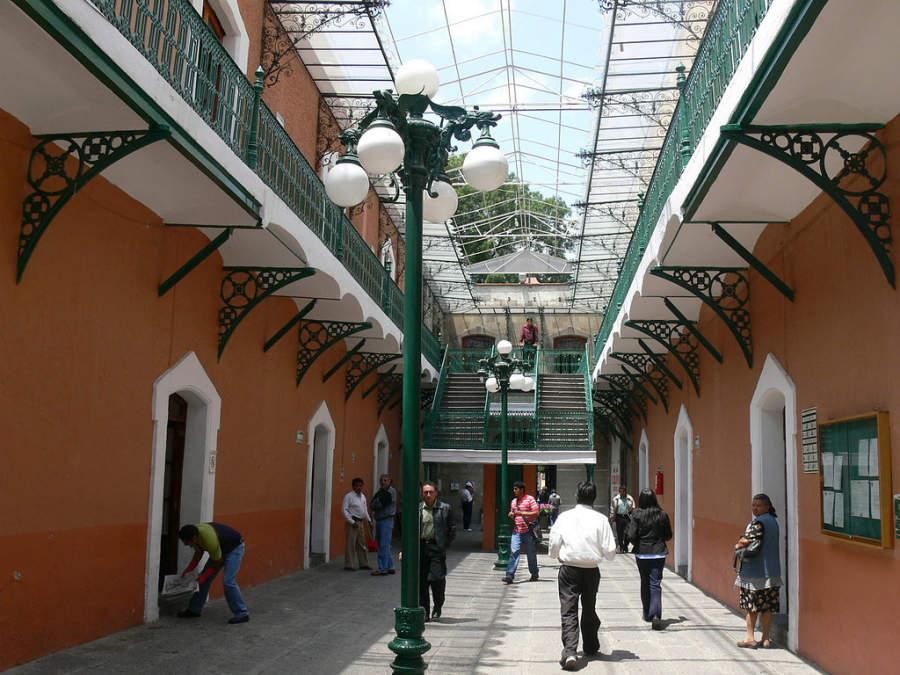 Interior del Palacio Municipal de Tlaxcala