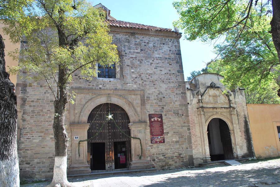 Una de las capillas de la Catedral de Tlaxcala