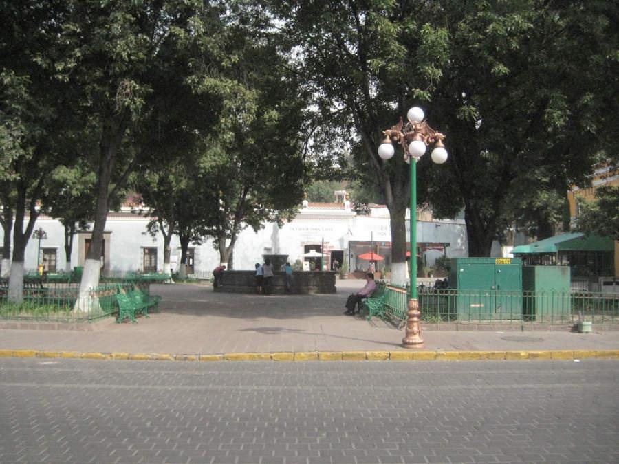 Vista típica de Tlaxcala en la provincia mexicana