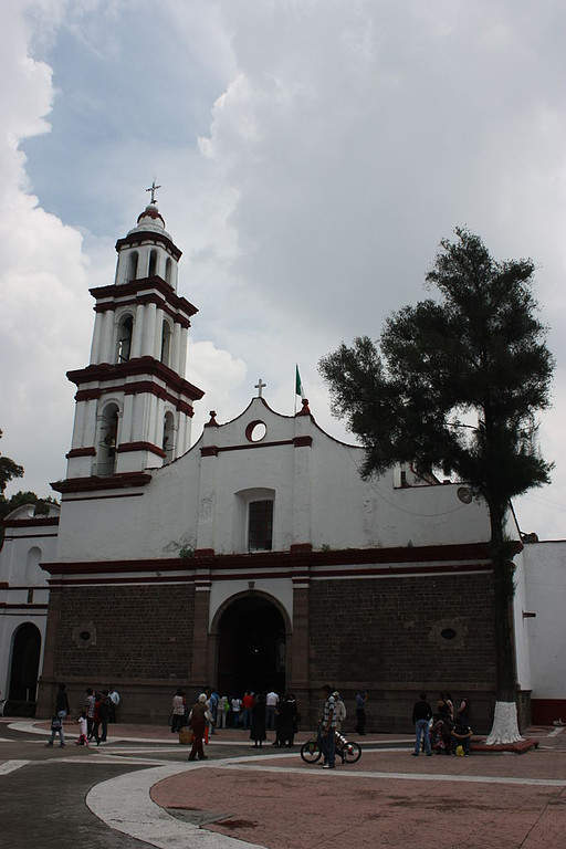 Iglesia de San Cristóbal en Ecatepec