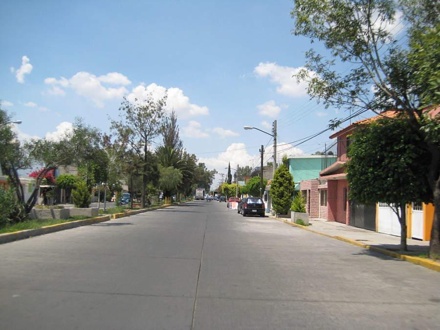 Vista de la colonia Ciudad Azteca en Ecatepec