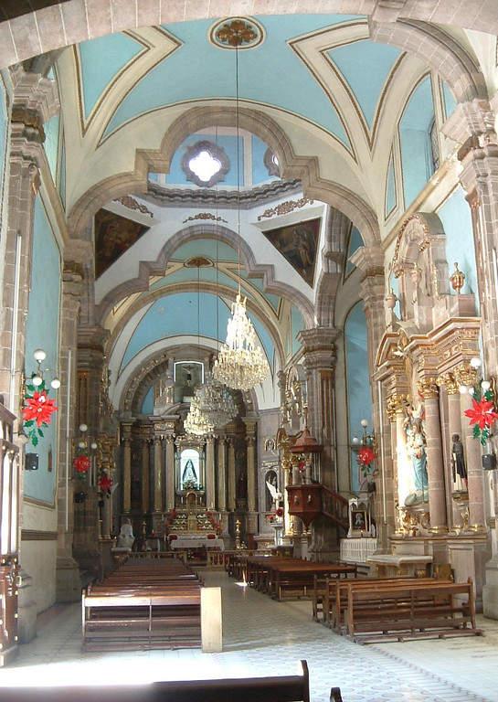 Templo de la Soledad en Irapuato, Guanajuato