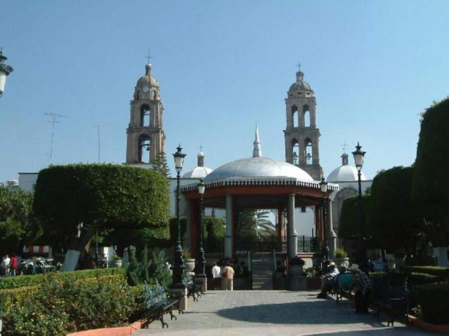 Plaza principal de Irapuato