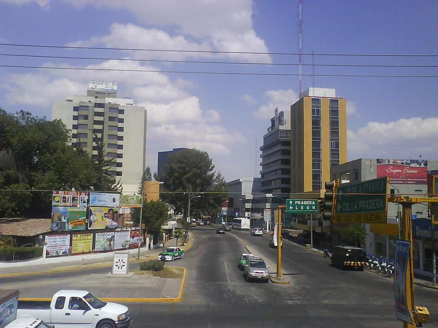 Zona Dorada de Irapuato, área residencial y de negocios