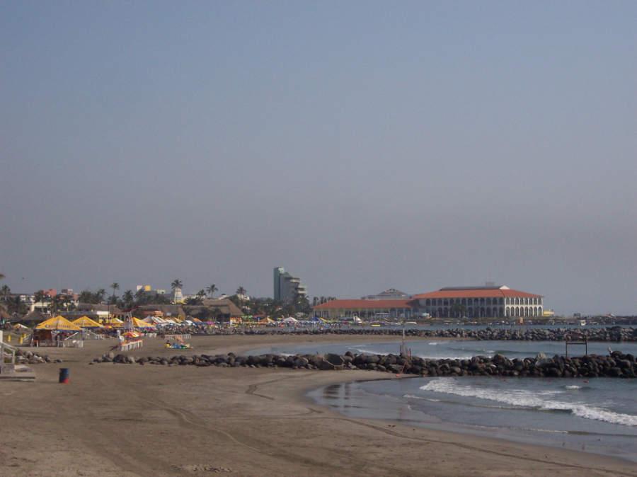 Veracruz cuenta con playas de oleaje apacible