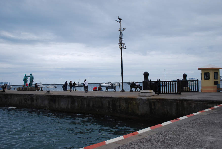 Muelle en el Puerto de Veracruz