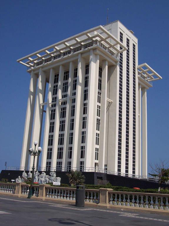Torre de PEMEX en Veracruz