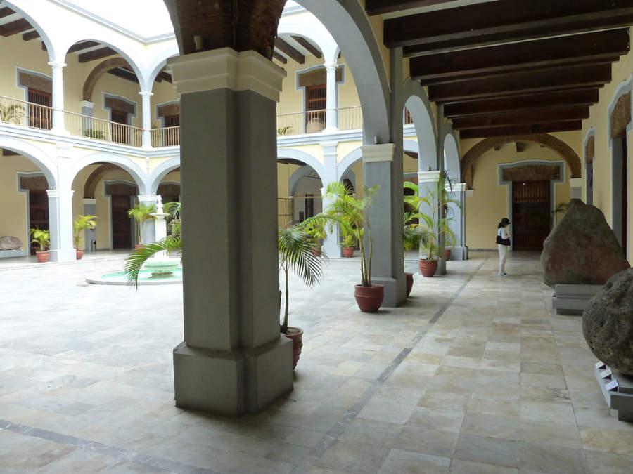Explanada del Museo de la Ciudad de Veracruz