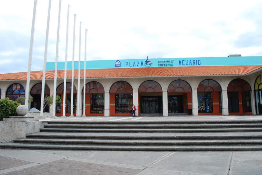 Entrada al Acuario de Veracruz