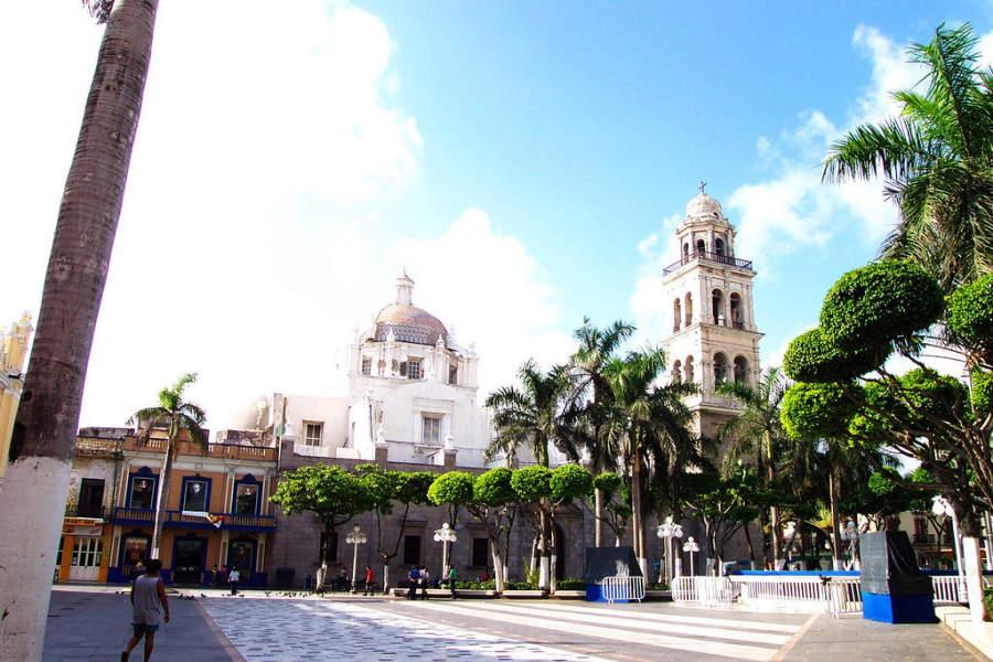Un parque en el Puerto de Veracruz