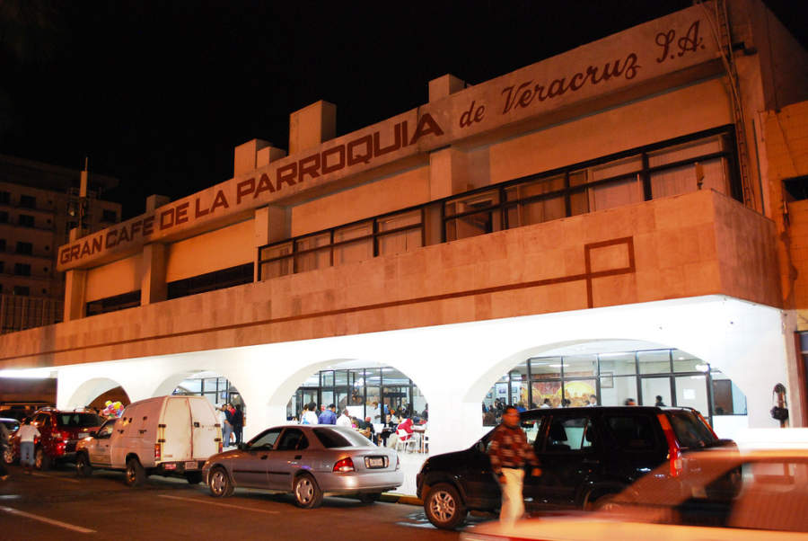 El Gran Café de la Parroquia es un restaurante y cafetería ícono de Veracruz