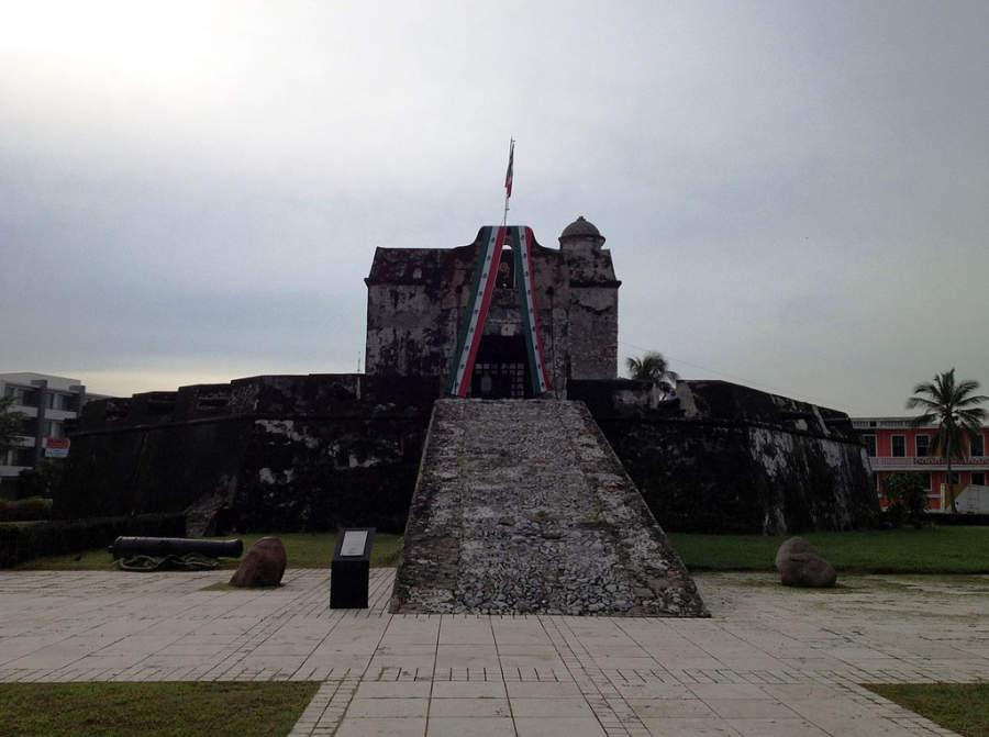 Baluarte de Santiago, conocido como el Baluarte de la Pólvora en Veracruz