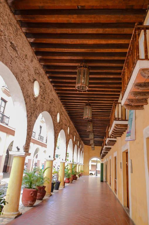 Portal de Miranda en el Puerto de Veracruz