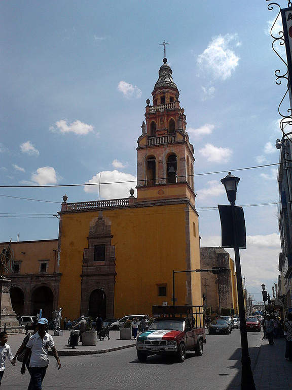 La Casa de la Cultura de Celaya se encuentra en el centro de la ciudad