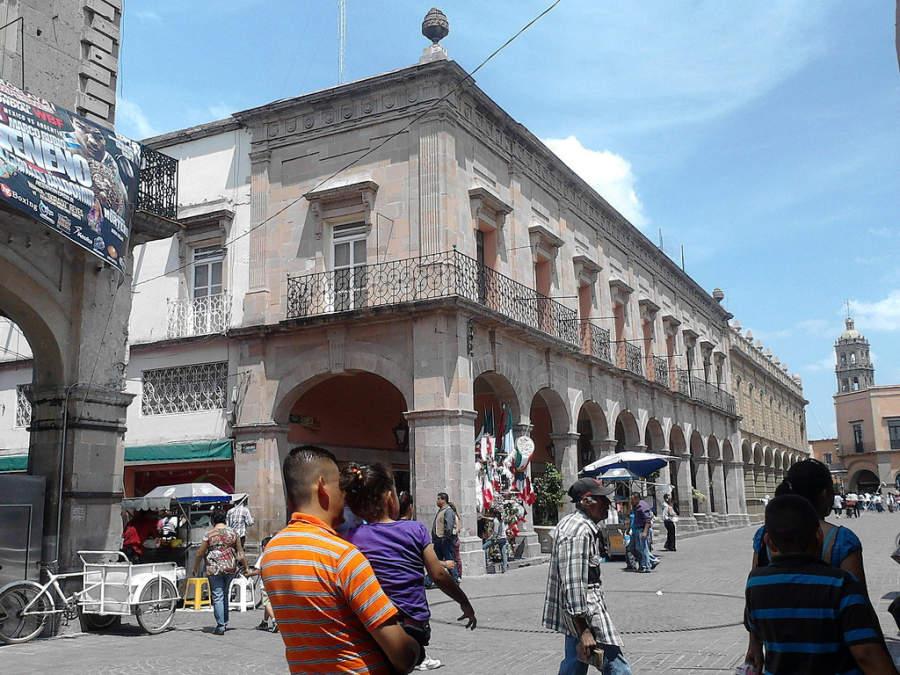 Centro histórico de la ciudad de Celaya, Guanajuato