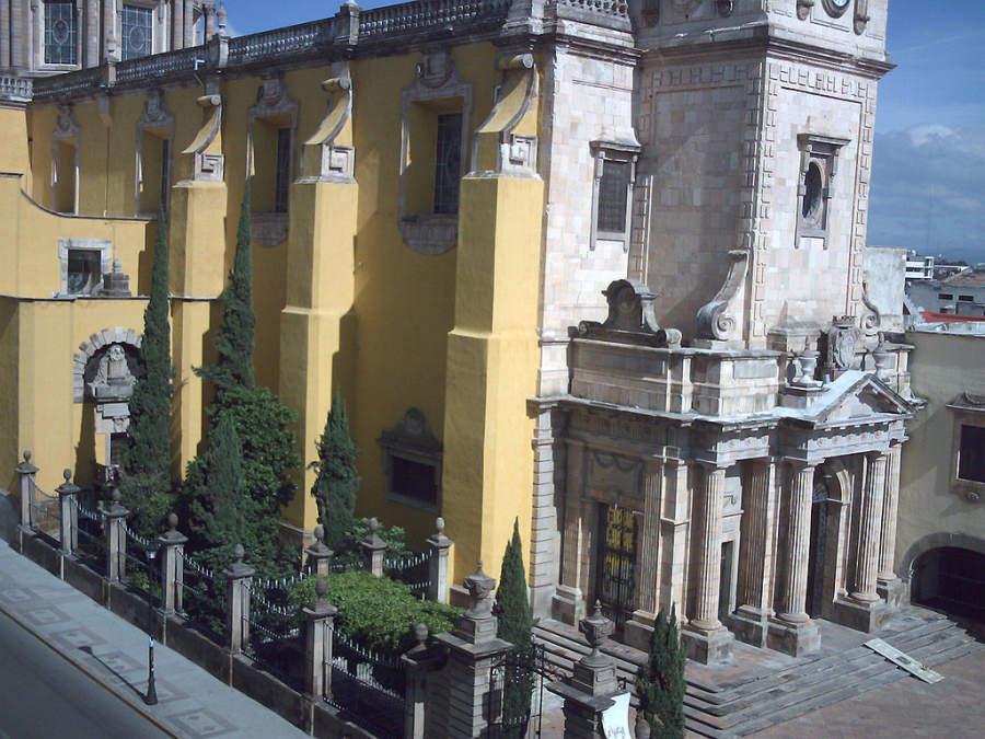 El Templo del Carmen en Celaya es un ejemplo de arquitectura neoclásica