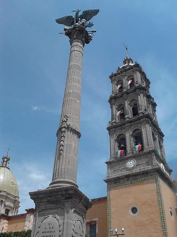 La Columna de la Independencia fue el primer monumento erigido en el México Independiente
