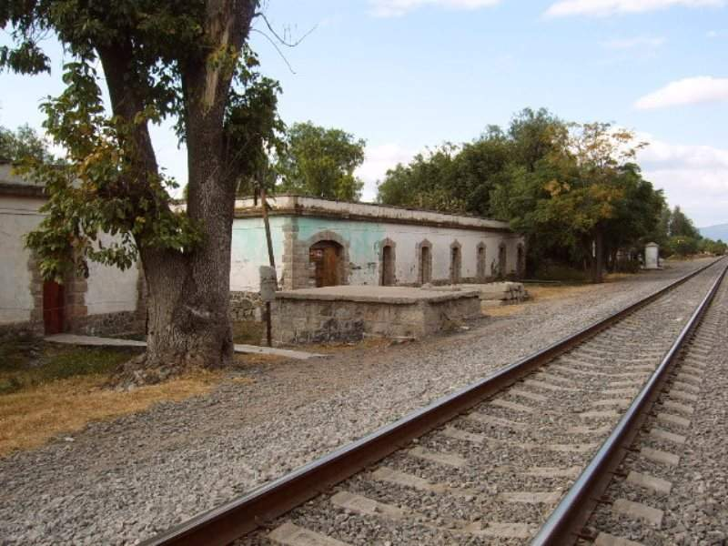 Antigua estación de ferrocarril de Celaya