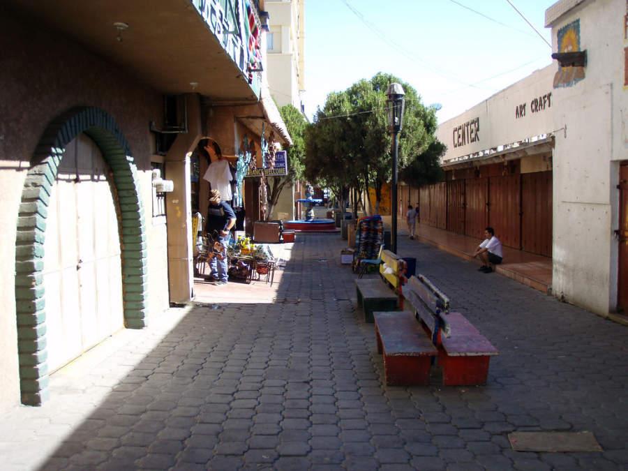 Pasaje comercial en Nogales