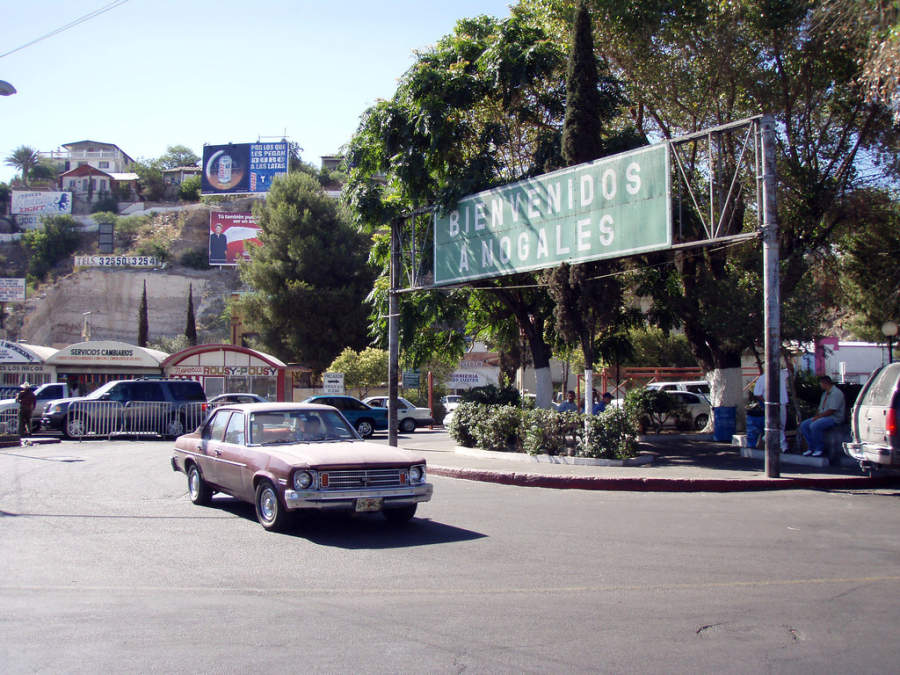 Entrada a la ciudad de Nogales, Sonora