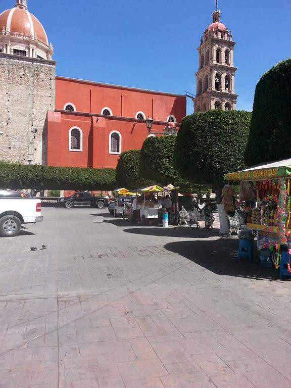 Plaza central de Silao, Guanajuato